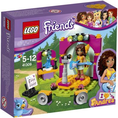 Конструктор LEGO Friends: Музыкальный дуэт Андреа 86 элементов 41309