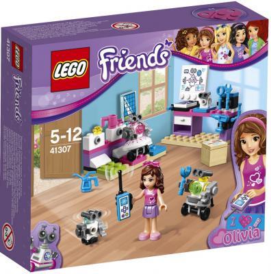 Конструктор LEGO Friends: Творческая лаборатория Оливии 91 элемент 41307