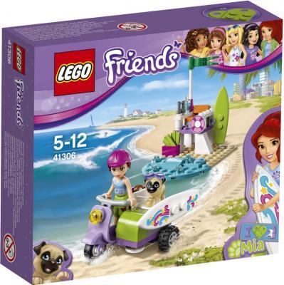Конструктор LEGO Friends: Пляжный скутер Мии 79 элементов 41306