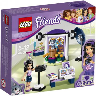 Конструктор LEGO Friends: Фотостудия Эммы 96 элементов 41305