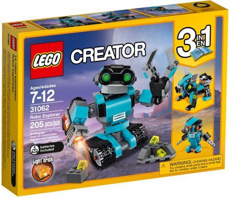 Конструктор LEGO Creator: Робот-исследователь 205 элементов 31062