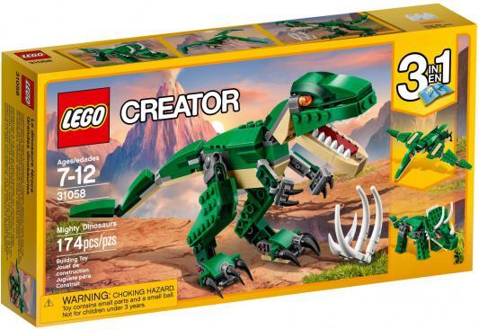 Конструктор LEGO Creator: Грозный динозавр 174 элемента 31058