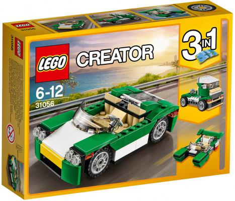 Конструктор LEGO Creator Зелёный кабриолет 122 элемента 31056 lego creator 31056 лего криэйтор зелёный кабриолет