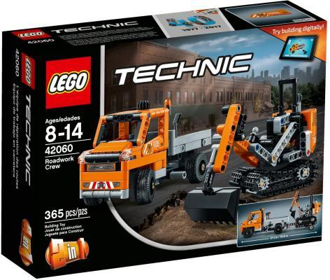 Конструктор LEGO Technic: Дорожная техника 365 элементов 42060
