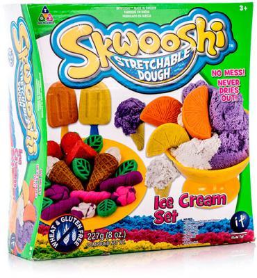 Набор для творчества Skwooshi Мороженое - масса для лепки и аксессуары S30024 набор для лепки мороженое тесто 25г аксессуары