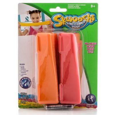 Масса для лепки Skwooshi в 2 конт. 2* 85 гр S30013 skwooshi набор для лепки с аксессуарами бургер