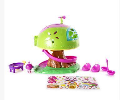 """Игровой набор Popples """"Дом на дереве"""" spin master игровой набор чайный домик popples"""