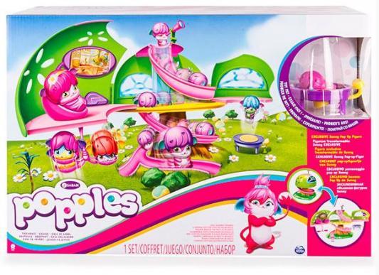 Игровой набор Popples Чайный домик игровые фигурки popples малыши прыгуши фигурка трансформер