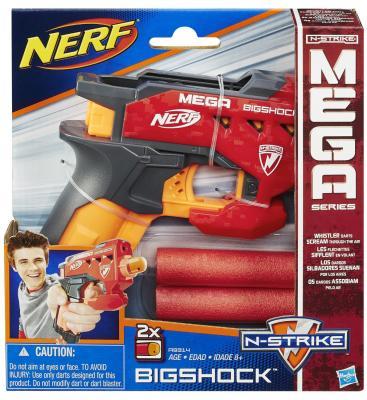 """Бластер Hasbro """"НЁРФ МЕГА"""" - Большой выстрел игрушка нёрф мега твиншок бластер"""