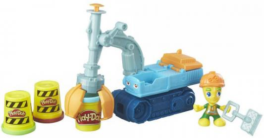 Набор для лепки Hasbro Play-Doh Экскаватор B6283 hasbro play doh b6283 экскаватор