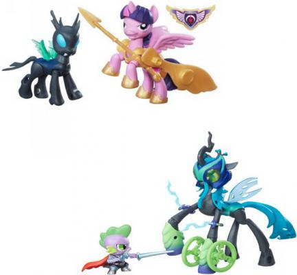 Игровой набор HASBRO My Little Pony 2 фигурки с артикуляцией B6009 в ассортименте брюки 2 пары quelle klitzeklein 571697