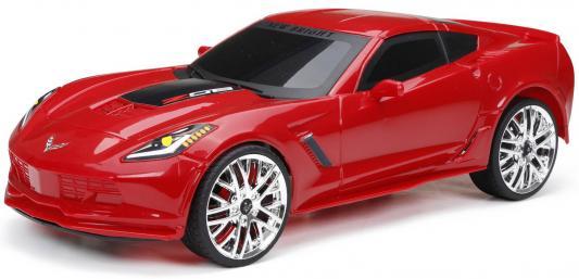 Машинка на радиоуправлении NEW BRIGHT Corvette Z06 пластик от 6 лет красный new bright new bright радиоуправляемые машинки challenger hellcat на р у