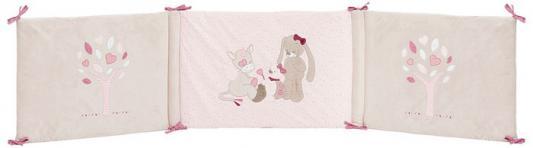 Бортик для кровати универсальный Nattou Nina, Jade & Lili (987431)