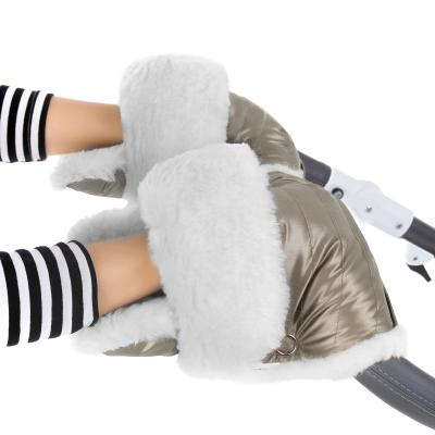 Муфта-рукавички для коляски Esspero Christer (натуральная шерсть/almond)