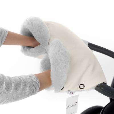 Муфта для рук на коляску Esspero Ingrid (100% овечья шерсть/beige)
