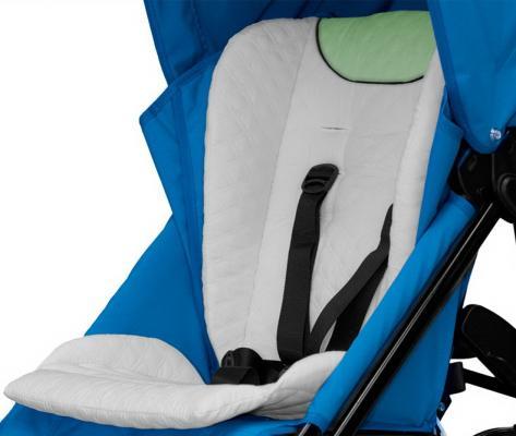 Матрас в детскую коляску Esspero Stotte (white/green)