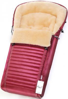 Конверт в коляску Esspero Lukas (натуральная 100% шерсть/ruby)