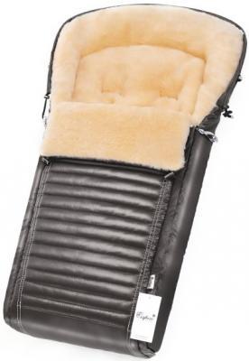 Конверт в коляску Esspero Lukas (натуральная 100% шерсть/graphite)
