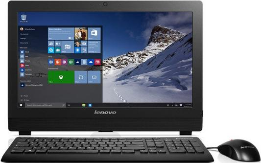"Моноблок 19.5"" Lenovo S200z 1600 x 900 Intel Celeron-J3060 4Gb 500Gb Intel HD Graphics 400 DOS черный 10K4002ARU"