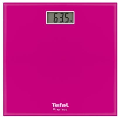 Весы напольные Tefal PP1063V0 розовый весы напольные tefal pp5150v1 серебристый