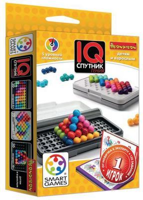 Настольная игра логическая BONDIBON IQ-спутник гения ВВ1890 дриптан 5мг 30 таблетки
