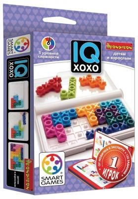 Настольная игра BONDIBON логическая IQ-ХоХо арт. SG 444 RU. bondibon логическая игра парковка пазл вв1887