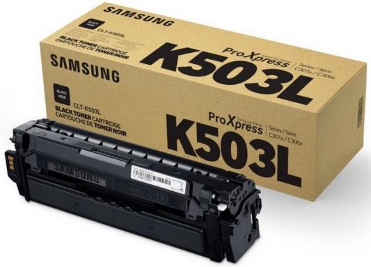 Картридж Samsung CLT-K503L для SL-C3060FR черный кобура кобура gletcher поясная для clt 1911