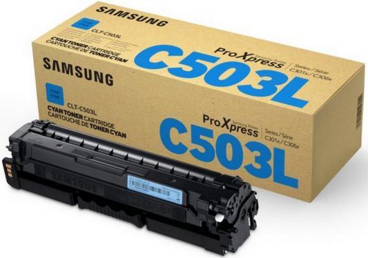 Картридж Samsung CLT-C503L/SEE для SL-C3060FR голубой кобура кобура gletcher поясная для clt 1911