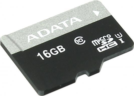 Карта памяти Micro SDHC 16Gb Class 10 A-Data AUSDH16GUICL10-R
