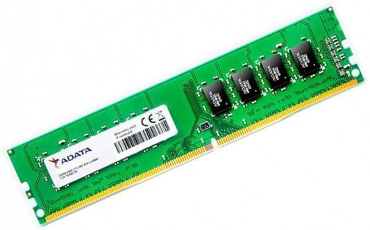 Оперативная память 4Gb PC4-19200 2400MHz DDR4 DIMM A-Data CL17 AD4U2400W4G17-B