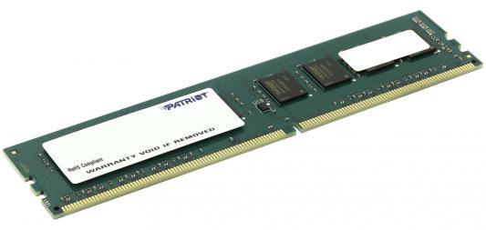 Оперативная память 4Gb PC4-19200 2400MHz DDR4 DIMM Patriot PSD44G240041 пила patriot es 2016 220301510