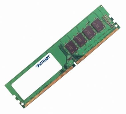 Оперативная память 4Gb PC4-17000 2133MHz DDR4 DIMM Patriot PSD44G213341 new memory 803026 b21 4gb 1x4gb single rank x8 pc4 17000 ddr4 2133 registered cas 15 ecc one year warranty