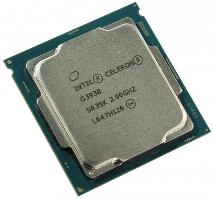 Процессор Intel Celeron G3930 2.9GHz 2Mb Socket 1151 OEM процессор intel celeron g530 g530 cpu 2 4g