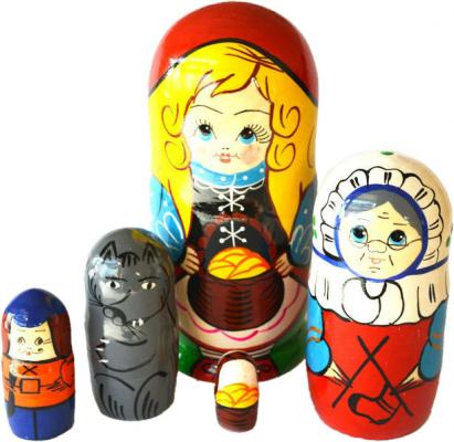 Развивающая игрушка Бэмби матрешка «Красная шапочка»