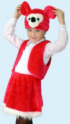 Карнавальный костюм Костюмы Мышка (головной убор, жилет, юбка) в ассортименте
