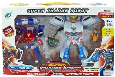 Купить Трансформер-робот Shantou Gepai свет, звук, коробка 8-33, Игрушки-трансформеры