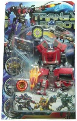 Купить Робот-трансформер Shantou Gepai Робот-машина 3836B, Игрушки Роботы