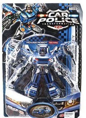 Робот-трансформер Shantou Gepai Car Police  1010AB