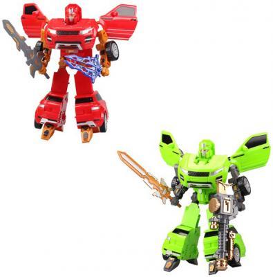 Купить Робот-трансформер Shantou Gepai Planet Heroes 19 см L015-4, Игрушки Роботы