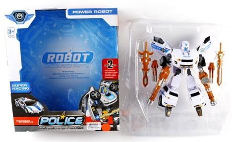 Робот-трансформер Shantou Gepai Полиция  L015-8