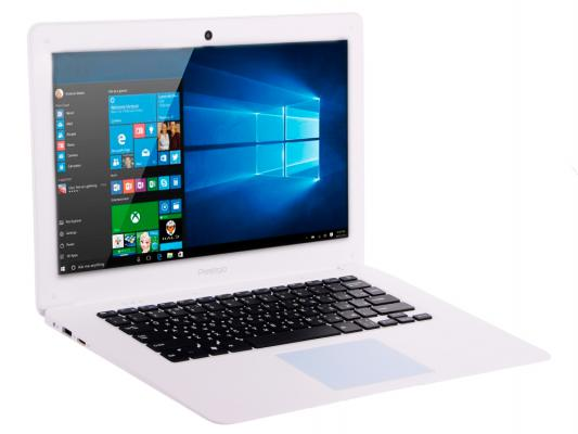 "Планшет Prestigio Smartbook 141A03 14.1"" 32Gb белый Wi-Fi Bluetooth Windows PSB141A03BFW_MW_CIS"