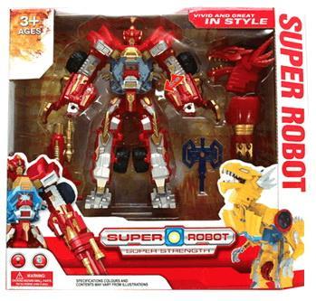 Робот-трансформер Shantou Gepai Дракон 21 см со звуком светящийся L012-13 shantou gepai каталка ходунки бегемотик со светом и звуком shantou gepai