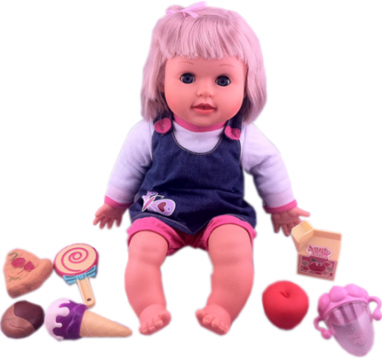 """Кукла Shantou Gepai Мила, """"Любимые вкусняшки"""" 942802"""