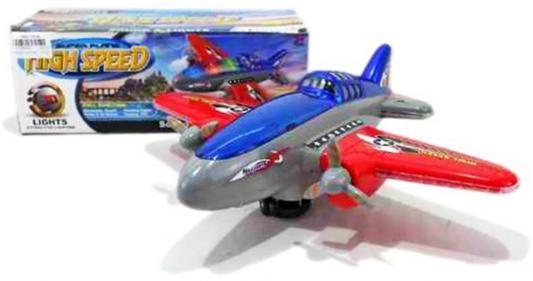 Самолет Shantou Gepai High Speed 29 см разноцветный свет, звук Y7835043