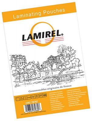 Фото - Пленка для ламинирования Fellowes Lamirel LA-7876701 83х113мм 125мкм 100шт la cura