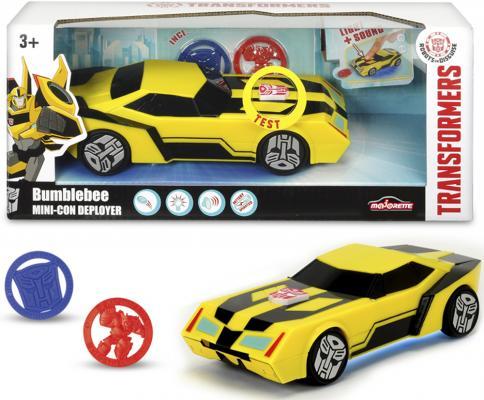 """Машина-трансформер Simba """"Трансформеры"""" - Бамблби (свет, звук), 1:6 20 см"""