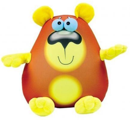 """Антистрессовая игрушка медведь СПИ """"Крэйзи Медведь"""" полистирол коричневый 30 см в ассортименте"""