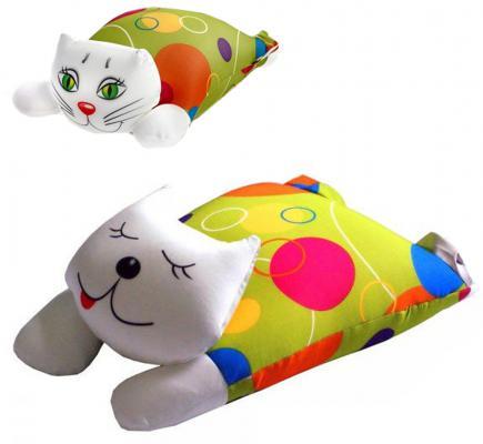 """Антистрессовая игрушка кошка СПИ """"Кокетка"""" текстиль разноцветный 40 см в ассортименте"""