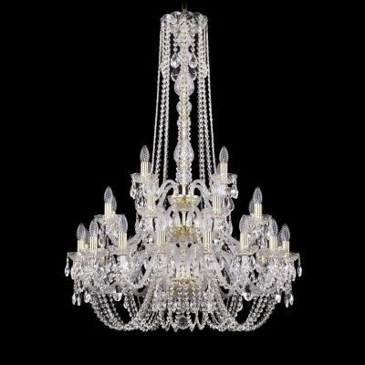 Подвесная люстра Bohemia Ivele 1402/16+8+4/300/h-123/3d/G bohemia ivele crystal подвесная люстра bohemia ivele 1402 16 300 g