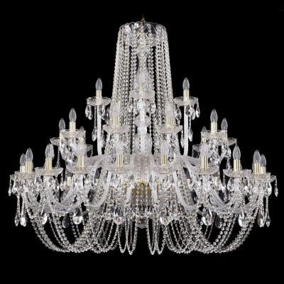 Подвесная люстра Bohemia Ivele 1402/20+10+5/460/G подвесная люстра bohemia ivele crystal 1402 20 10 5 460 g